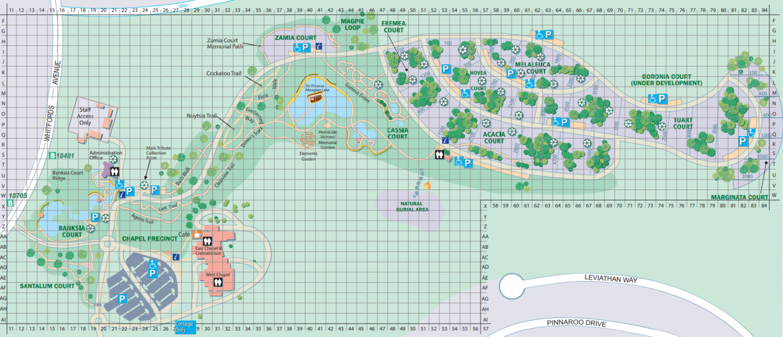 map pinnaroo